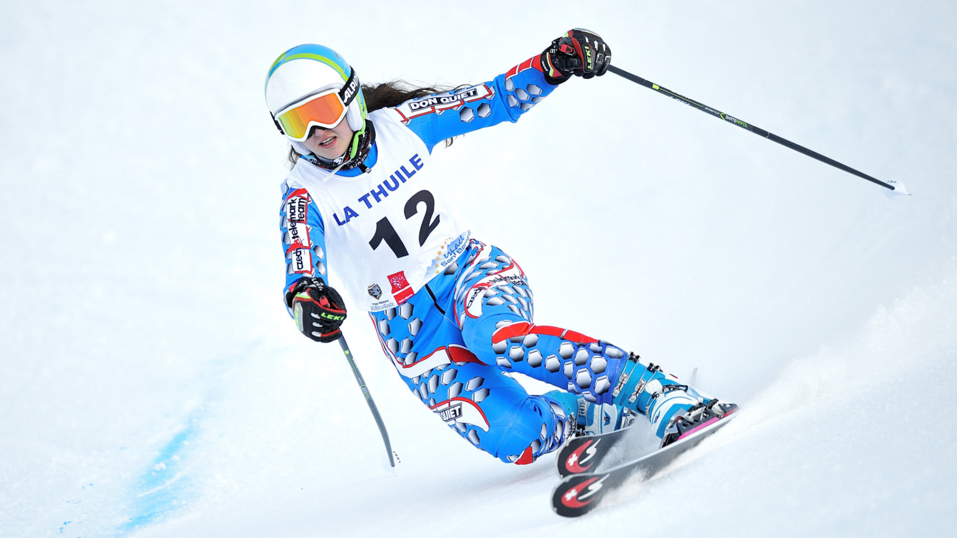 20.01.2017- FIS Telemark World Cup 2016-2017 La Thuile - Start R